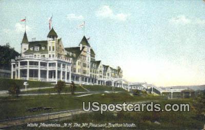 Mt Pleasant, Bretton Woods - White Mountains, New Hampshire NH Postcard