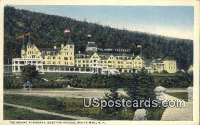Mount Pleasant - White Mountains, New Hampshire NH Postcard