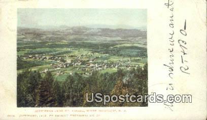 Bethlehem, Mt Agassiz - White Mountains, New Hampshire NH Postcard