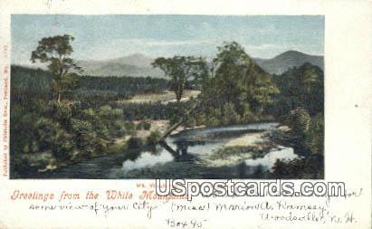 Mt Washington, Fabyan's - White Mountains, New Hampshire NH Postcard