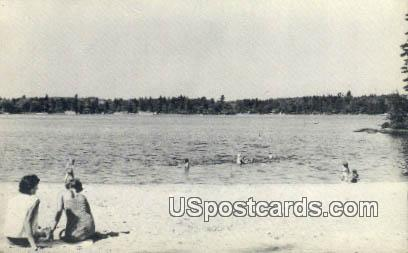 Baboosic Lake - Milford, New Hampshire NH Postcard