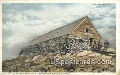 Tip Top House - White Mountains, New Hampshire NH Postcard