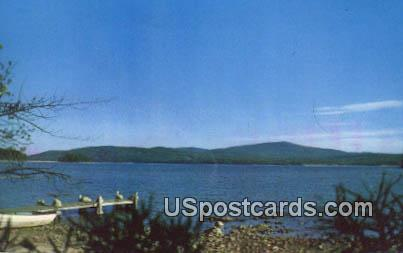 Copple Crown Mt & Lake Wentworth - East Wolfeboro, New Hampshire NH Postcard
