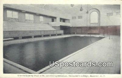 Swimming Pool, Dartmouth College - Hanover, New Hampshire NH Postcard