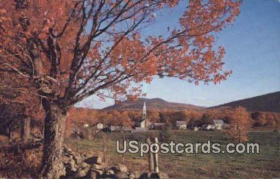 Village of Tamworth - White Mountains, New Hampshire NH Postcard