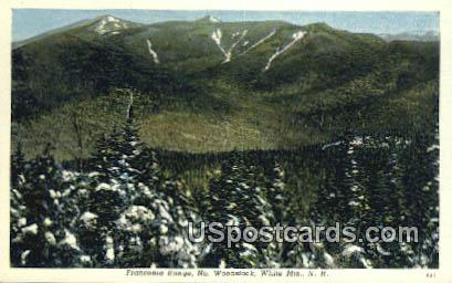 Franconia Notch - White Mountains, New Hampshire NH Postcard