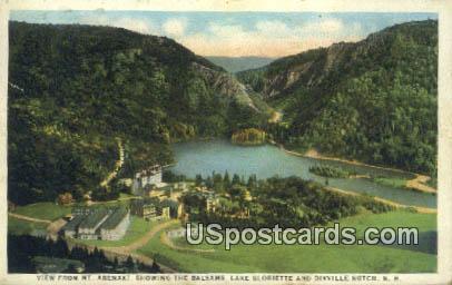 Mt Abenaki - Dixville Notch, New Hampshire NH Postcard