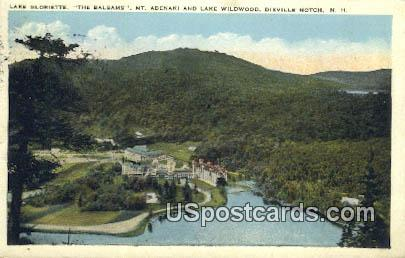 Lake Gloriette - Dixville Notch, New Hampshire NH Postcard