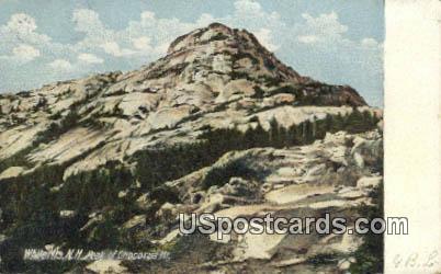 Peak of Chocorua Mountain - White Mountains, New Hampshire NH Postcard