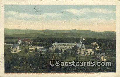 Maplewood Hotel & Dalton Range - White Mountains, New Hampshire NH Postcard