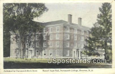 Russell Sage Hall, Dartmouth College - Hanover, New Hampshire NH Postcard