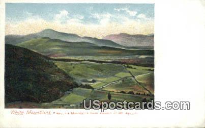 Franconia Mountains - White Mountains, New Hampshire NH Postcard