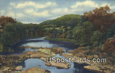 Ammonoosuc River - White Mountains, New Hampshire NH Postcard
