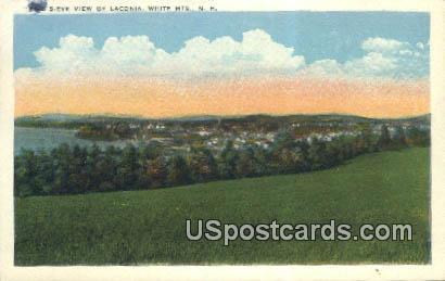 Laconia - White Mountains, New Hampshire NH Postcard
