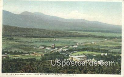Twin Mountain House - White Mountains, New Hampshire NH Postcard