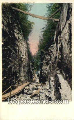 The Flume, Franconia Notch - White Mountains, New Hampshire NH Postcard