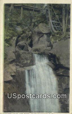Paradise Falls, Lost River - White Mountains, New Hampshire NH Postcard