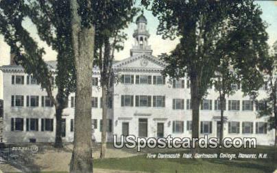 New Dartmouth Hall, Dartmouth College - Hanover, New Hampshire NH Postcard