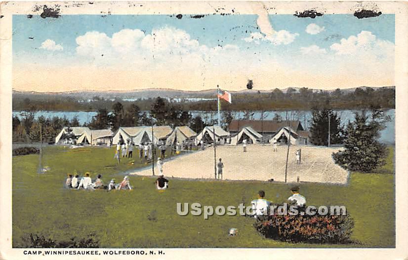 Camp Winnipesaukee - Wolfeboro, New Hampshire NH Postcard