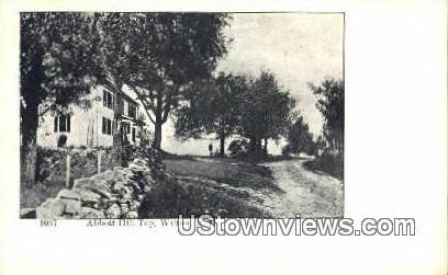 Abbott Hill Top - Wilton, New Hampshire NH Postcard