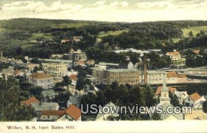 Bales Hill - Wilton, New Hampshire NH Postcard