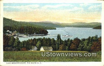 Lake Winnepesaukee - Weirs, New Hampshire NH Postcard