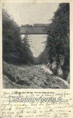 Quechee Gulf Bridge - Misc, New Hampshire NH Postcard