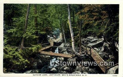 Elysian Land, Lost River - White Mountains, New Hampshire NH Postcard