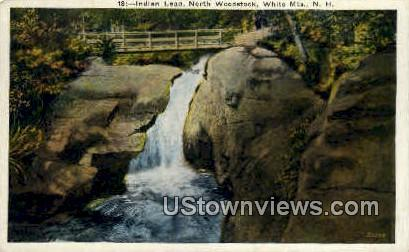 Indian Leap, North Woodstock - White Mountains, New Hampshire NH Postcard