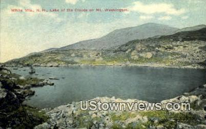 Lake of the Clouds - White Mountains, New Hampshire NH Postcard