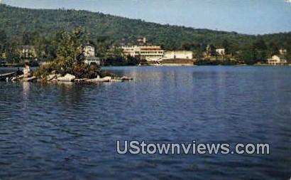 Lake Tarleton Club - Pike, New Hampshire NH Postcard