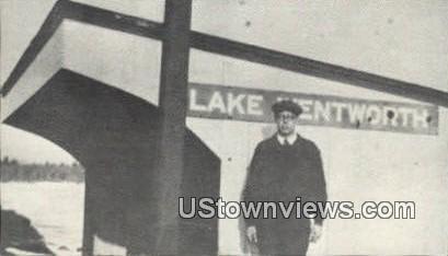 Reproduction - Lake Wentworth Station - Wolfeboro, New Hampshire NH Postcard