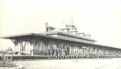 Reproduction - Sanbornville Station 1895 - Wolfeboro, New Hampshire NH Postcard
