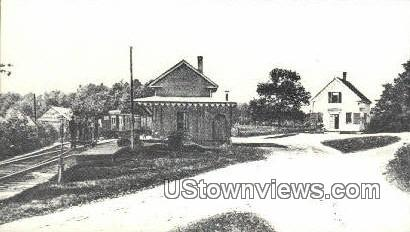 Reproduction - Cotton Valley Station - Wolfeboro, New Hampshire NH Postcard