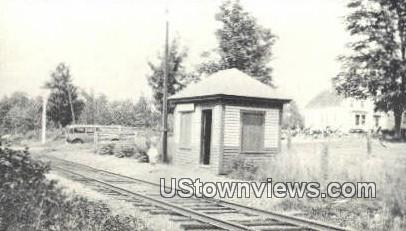 Reproduction - Brookfield Station - Wolfeboro, New Hampshire NH Postcard