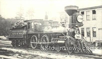 Reproduction - Wolfeboro RR - New Hampshire NH Postcard