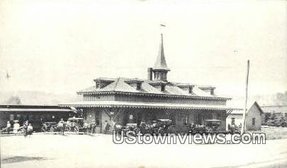 Reproduction - Wolfeboro Station, RR - New Hampshire NH Postcard