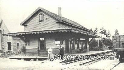 Reproduction - Wolfeboro Falls Station - New Hampshire NH Postcard