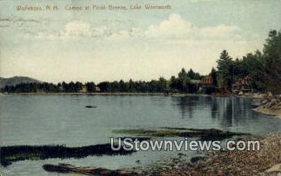 Camps, Lake Wentworth - Wolfeboro, New Hampshire NH Postcard