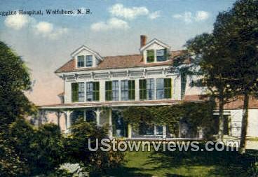 Huggins Hospital - Wolfeboro, New Hampshire NH Postcard