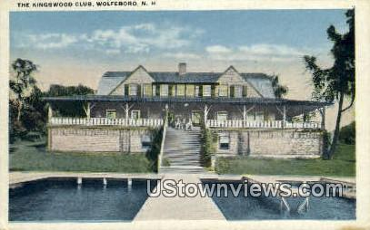 Kingswood Club - Wolfeboro, New Hampshire NH Postcard