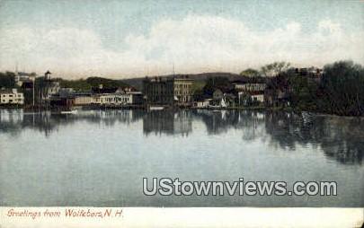 Wolfeboro, New Hampshire     ;      Wolfeboro, NH Postcard