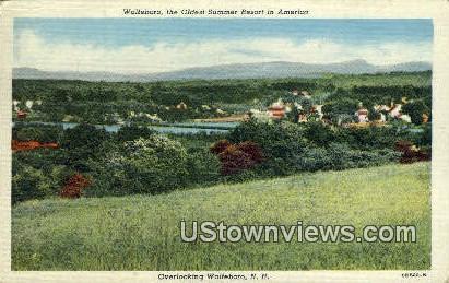 Wolfeboro, NH,     ;     Wolfeboro, New Hampshire Postcard