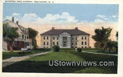 Brewster Free Academy - Wolfeboro, New Hampshire NH Postcard