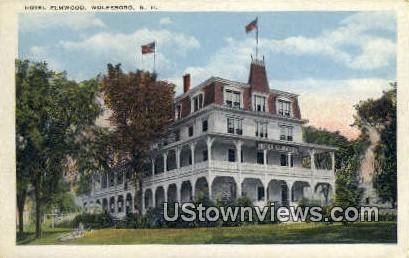 Hotel Elmwood - Wolfeboro, New Hampshire NH Postcard