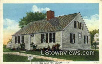 Clark House, 1758 - Wolfeboro, New Hampshire NH Postcard