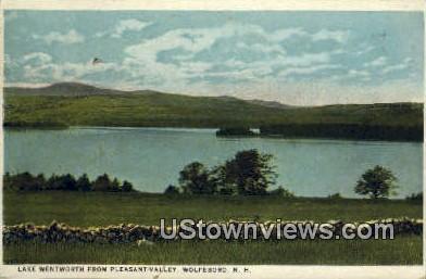 Lake Wentworth, Pleasant Valley - Wolfeboro, New Hampshire NH Postcard
