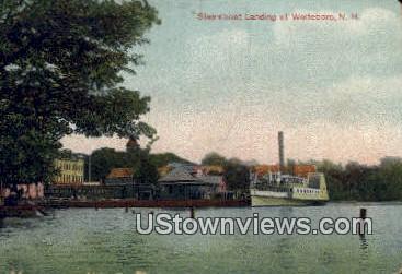 Steamboat Landing - Wolfeboro, New Hampshire NH Postcard