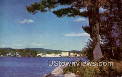 Oldest Summer Resort - Wolfeboro, New Hampshire NH Postcard