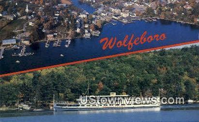 MS Mount Washington - Wolfeboro, New Hampshire NH Postcard